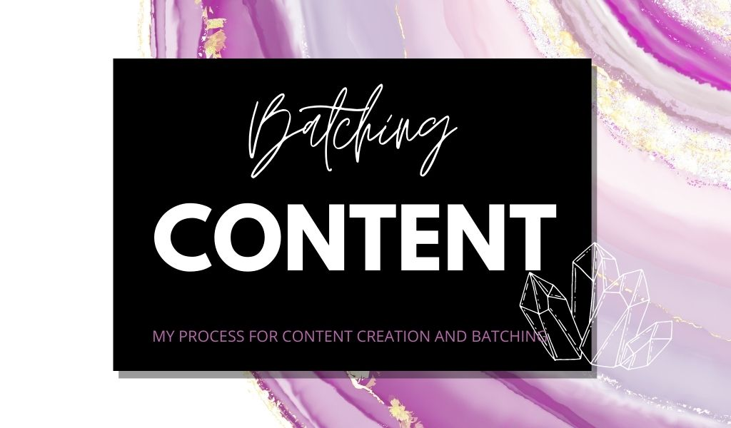 Creating and Batching Content